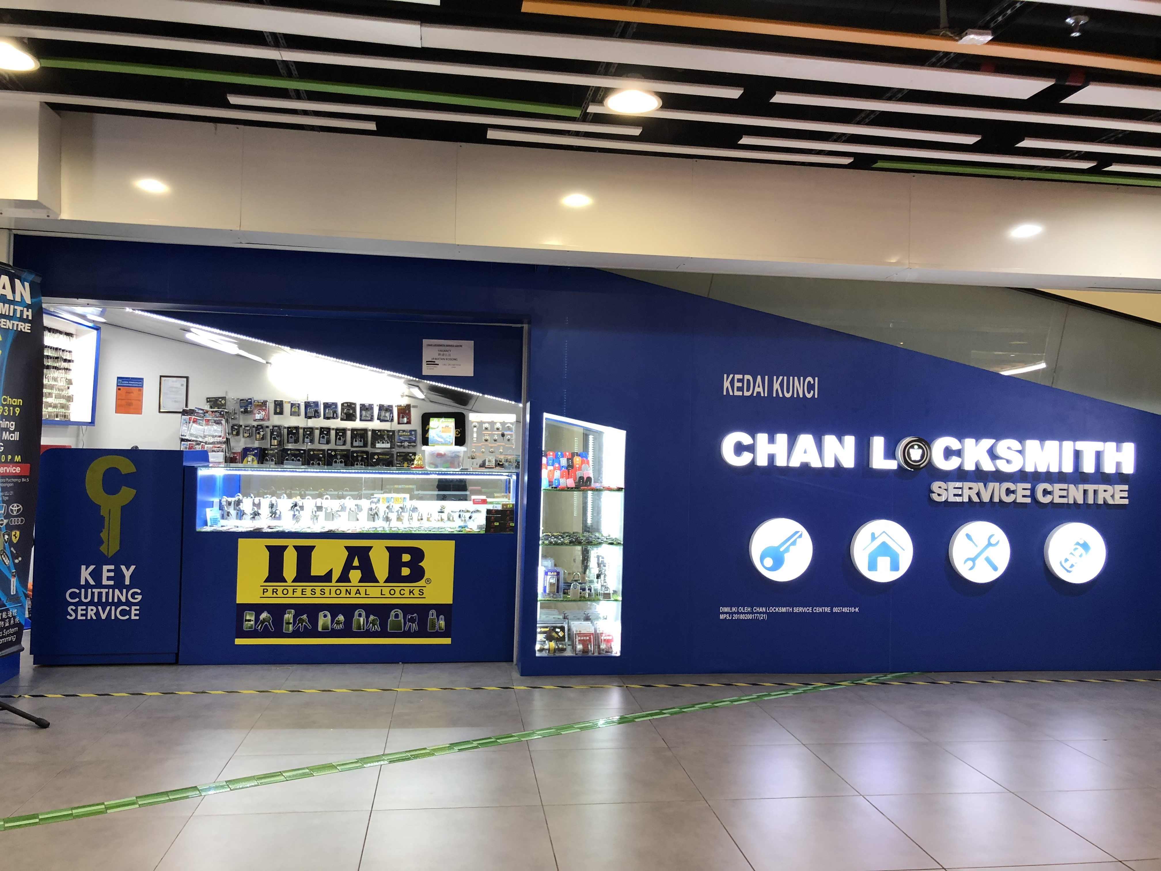 Chan Locksmith Service Centre